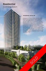 Surrey Central Apartment Unit for sale: GEORGETOWN 1 bedroom 452 sq.ft. (Listed 2019-03-26)